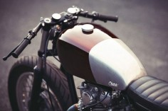 Yamaha XS650 Cafe Racer by Clutch Custom Motorcycles #caferacer #motorcycles #motos |