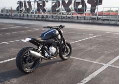 "Yamaha XSR700 Scrambler ""Super 7"" by JVB Moto #motorcycles #scrambler #motos |"