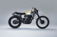 Yamaha XT500 Scrambler by 654motors  #motorcycles #scrambler #motos |