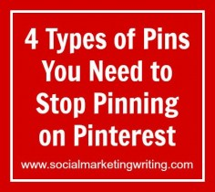 You can't share everything on Pinterest: There are four types of pins you need to stop pinning on Pinterest. In this article you will be able see