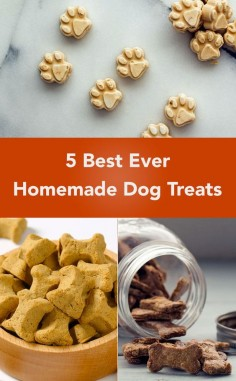 1. Peanut Butter & Banana Frozen Dog Treats
