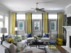 12 Gray and yellow living room ideas - LittlePieceOfMe