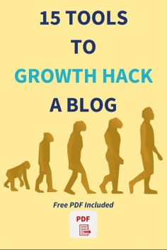 15 tools to growth hack a blog