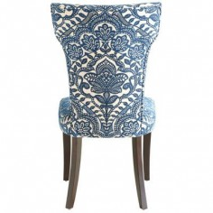 $152 each dining chair Carmilla Dining Chair - Blue Damask