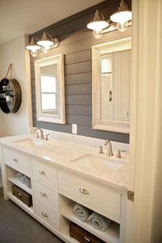 1950's bathroom home remodel