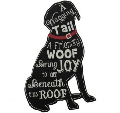 $ - Dog Sign | Gift For Dog Lovers | Dog Home Decor