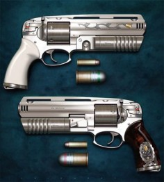 .454 Casull with 30mm Grenade  yeah, its got a little kick.