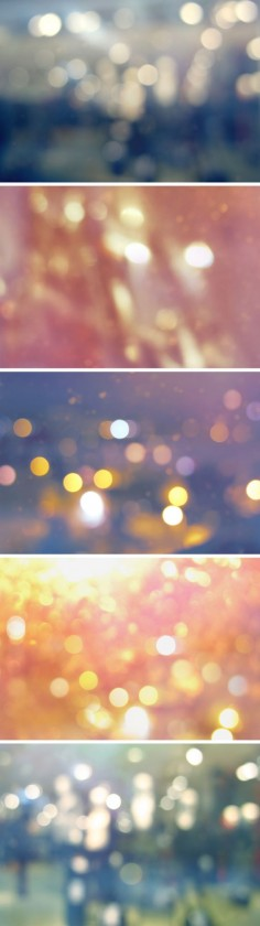 5 Bokeh Backgrounds