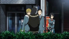 99% of this show is Shizuo throwing vending machines and Izaya getting hit by them | Durarara!!