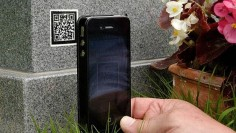 A funeral home in Britain is attaching tiny digital codes to headstones, giving visitors the chance to see, hear, even experience the lives of the dead.