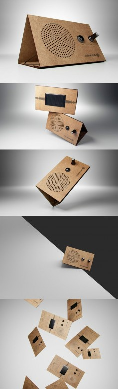 A REVOLUTIONARY RADIO! Read more at Yanko Design