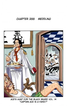 Ace's hunt for Blackbeard vol. 14 | One Piece 288