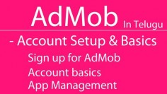AdMob Account setup and basics in Telugu  HD 720px