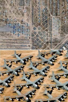 Airplane grave yard