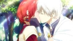 Akagami no Shirayuki-hime - kiss
