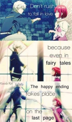 Akagami no Shirayuki-hime - Snow White with the Red Hair - Zen and Shirayuki ♥