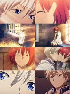 Akagami no Shirayuki-hime - Snow White with the Red Hair - Zen and Shirayuki ♥