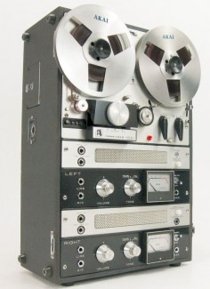 AKAI M8 VACUUM TUBE REEL TO REEL DECK SERVICED CROSSFIELD HEADS * NICE! 2nd time I have seen this model for sale.