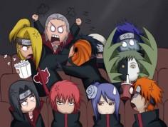 Akatsuki Itachi, Sasori, Konan, Yahiko, Deidara, Tobi, Zetsu, Hidan, Kakuzu and Kisame