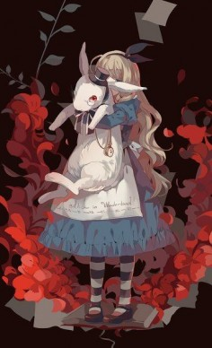 Alice in Wonderland:  #Alice.