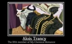 alois trancy meme | Alois Trancy: MCR member  in My ChemicalRomance