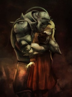 Alphonse and Edward Elric (Fullmetal Alchemist)