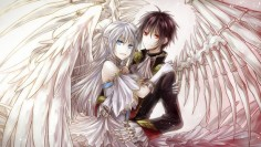 Anime Angel Boy And Demon Girl Love Im a girl an a demon angel