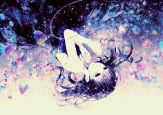 anime galaxy girl - Google Search