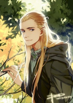 Anime version of Legolas!