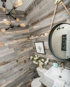 Antiqued Bathroom