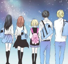 Ao Haru Ride | Like the way they color it!