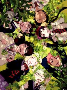 Ao no exorcist, Blue exorcist, Rin, Yukio, Renzou, Bon, Konekomaru, Shiemi, Izumo