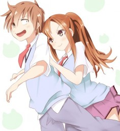 Aoyama and Kanda // Sakurasou no Pet na Kanojo