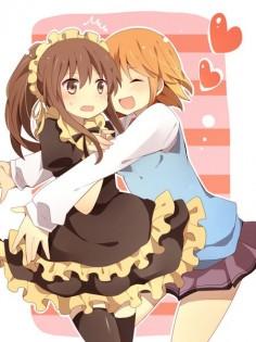 Aoyama and Misaki // Sakurasou no Pet na Kanojo