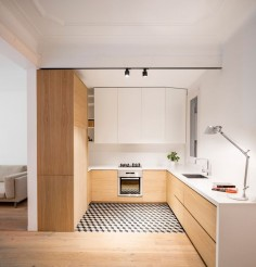 Apartment Alan in Barcelona, Spain, designed by Adrian Elizalde