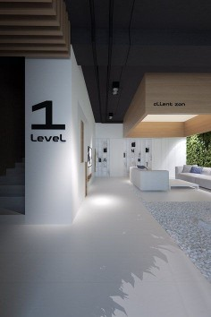 Architecture we like like / Interiour / office / Inside Garden / Numbers / at inspiration