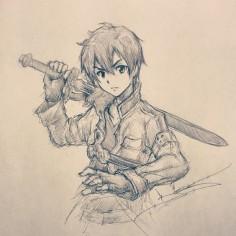 Artist: Itsbirdy | Sword Art Online | Kirito