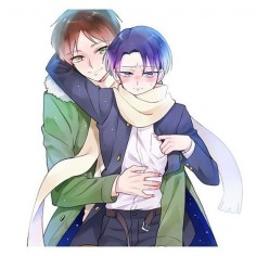 [Artist: miruyou_da on Twitter] (Please credit artist if you repost) {Tags} #leviackerman #erenjaeger #ereri #riren #erenxlevi #levixeren #animeguy #anime #manga #eren #levi #kawaii #cosplay #shingekinokyojin #yaoi #attackontitan