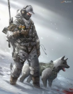ArtStation - Snow Trackers, JROID S