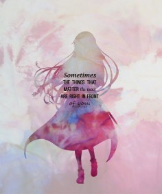 Asuna's quote #SAO  #Anime