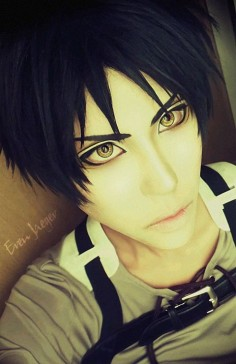 Attack on Titan~ Eren Jaeger cosplay- yaaaas (O#O) ♥