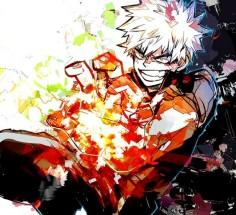 Bakugou Katsuki Flash Bomb! by nitrokio102 on DeviantArt