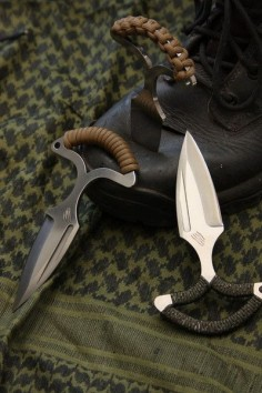 "BASTINELLI-CREATIONS - Push dagger ""L'ASSAULUTION"""