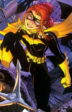 Batgirl in All Star Batman & Robin #6 - Jim Lee
