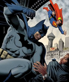 Batman and Superman - Brian Bolland