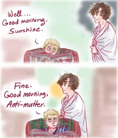 bbc sherlock fanart | Tumblr >>> this reminds me of my best friend :) sounds like something she would say!