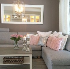 Beautiful decor for those ladies whom loves pink but do not want it to look