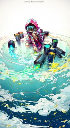 Before I Grow Up by yuumei on DeviantArt