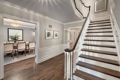 Benjamin Moore Edgecomb Gray: Color SpotlightThe Creativity Exchange - want this for foyer/upper hall