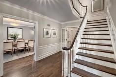 Benjamin Moore Edgecomb Gray: Color SpotlightThe Creativity Exchange - want this for foyer/upper hall